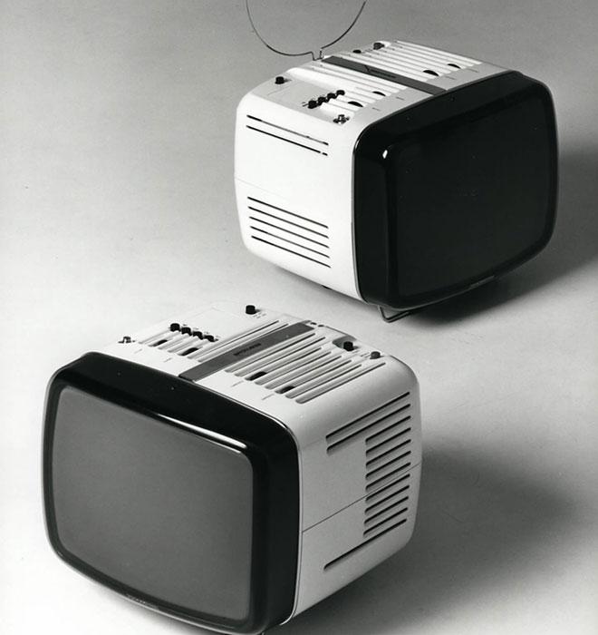 M.ザヌーゾ/R.ザッパーのデザインによる14インチ・テレビ「ドニー」