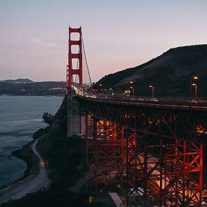 サンフランシスコで夕暮れのゴールデンゲート・ブリッジを撮る アメリカ西海岸の旅(後編)