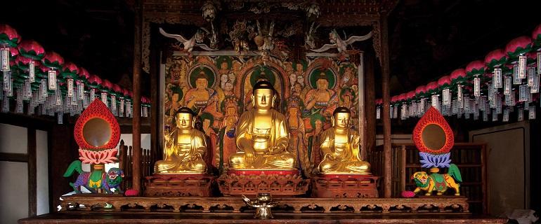 伝燈寺(チョンドゥンサ)