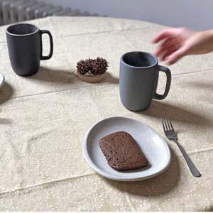 黒糖蒸しパンとチャイの味