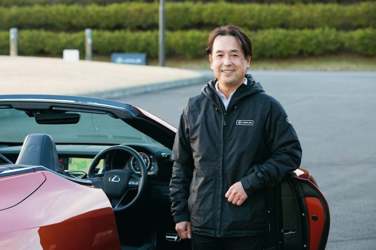 「TAKUMI」尾崎修一 その身体に託された、レクサスブランドの保守