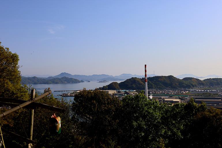 「安芸の小京都」竹原の町並みと、村上海賊の鎮海山城