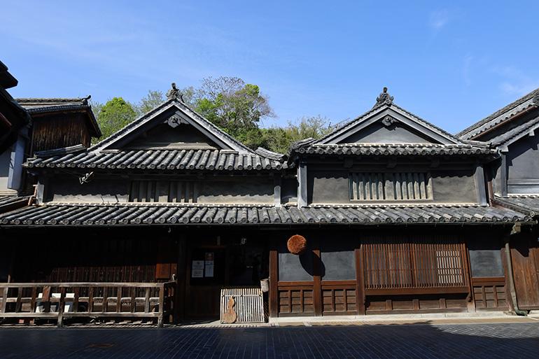 現在も営業している竹鶴酒造