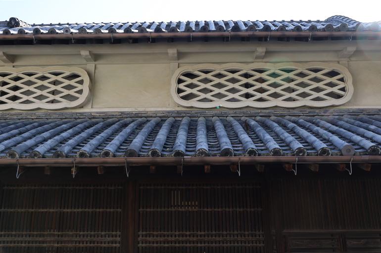 松阪家住宅。江戸末期に建てられ、明治時代に改造された