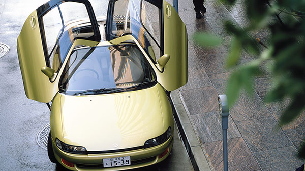 世界を驚かせたデザイン トヨタ・セラ