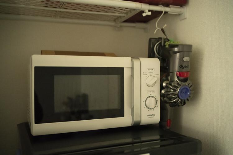 オーブントースター。レンジはあるがオーブンはない