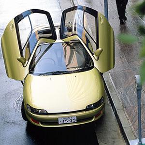 世界を驚かせたデザイン 「バタフライドア」のトヨタ・セラ