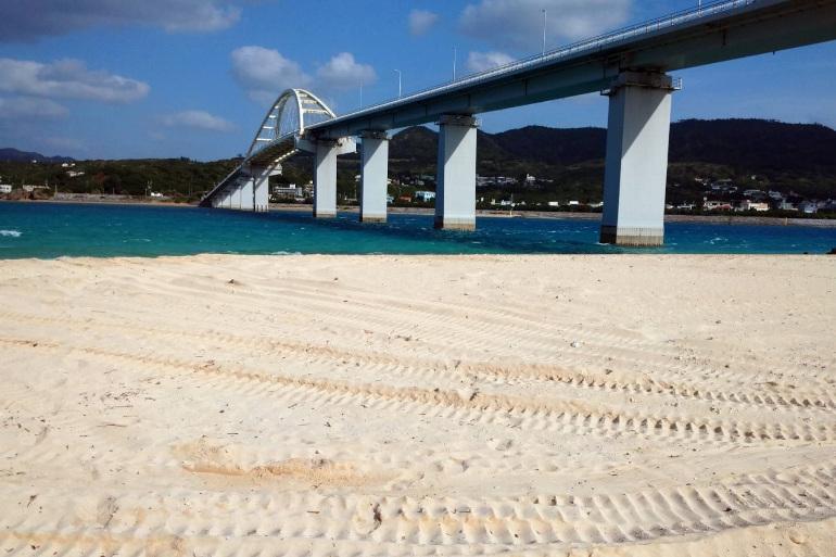 沖縄本島から車で行ける「離島」瀬底島  迫力の闘ヤギと豊年祭