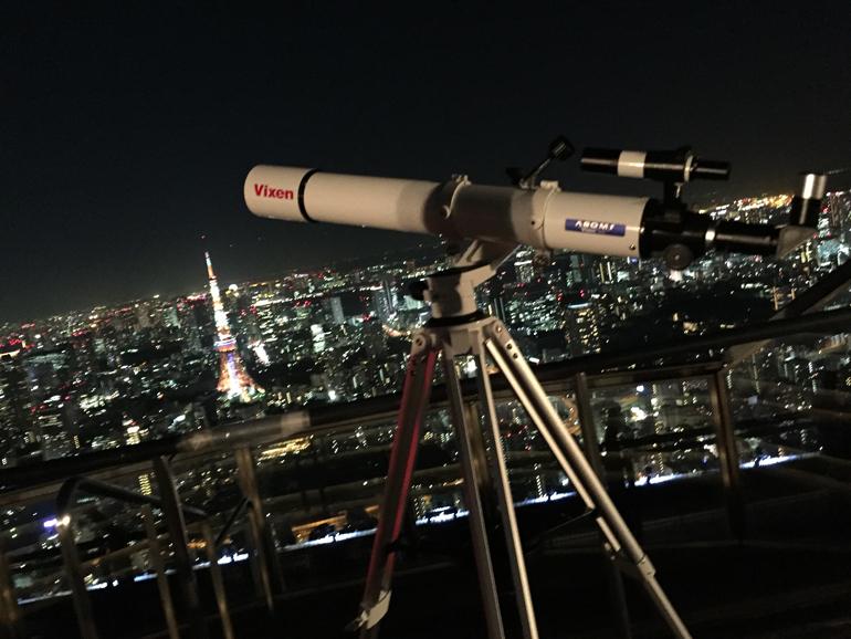 愛用しているVixenの望遠鏡