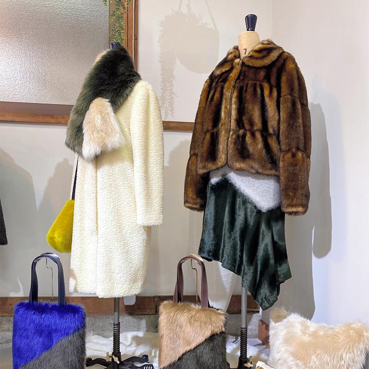 (モード×匠)再現力光る、一流のフェイクファー ヴィトンが採用、羊毛使った新素材も