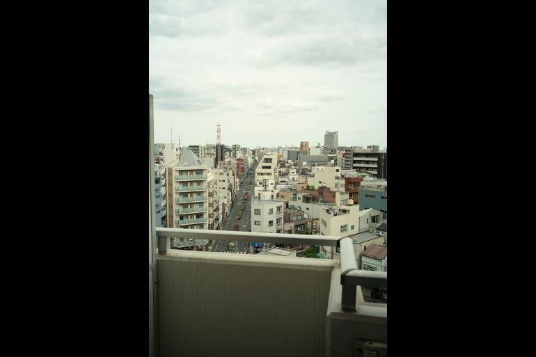 10階。下町の眺めの良さに惹かれて入居