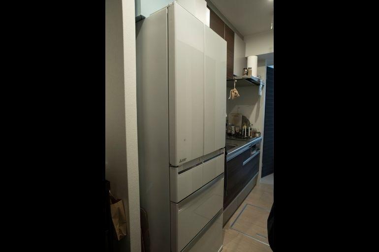 この大型冷蔵庫が入る台所を条件に賃貸物件を探した