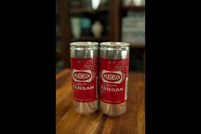 <切らしたら困るもの>ウィルキンソンタンサン(アサヒ飲料)。梅シロップを割って飲むため箱買い