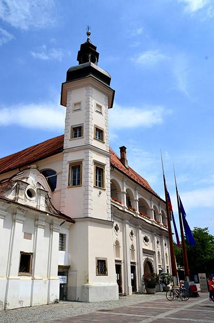 市庁舎です