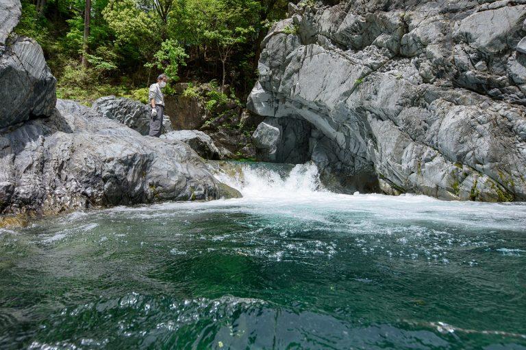 涼しげな滝に誘われ檜原村へ 東京再発見4