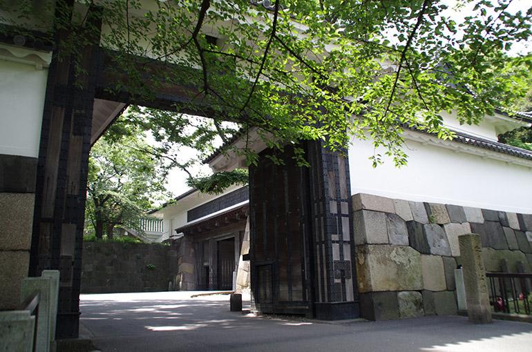 江戸城の田安門