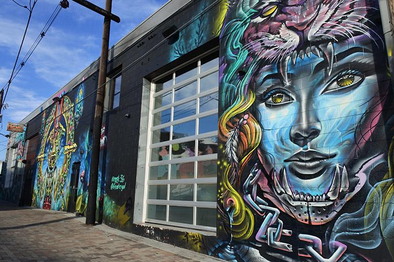RiNoで見かけたストリートアート