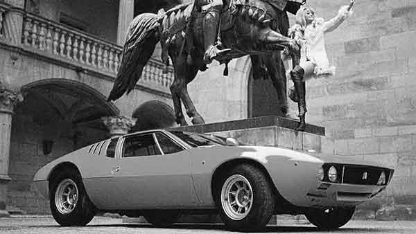 車好きのハートをつかむ デトマゾ・マングスタ
