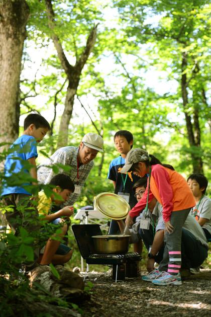 「白川GO!GO!ファミリーキャンプ」(画像提供:トヨタ白川郷自然學校)