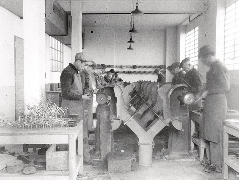 往年のアレッシィ工場内(Alessi提供)