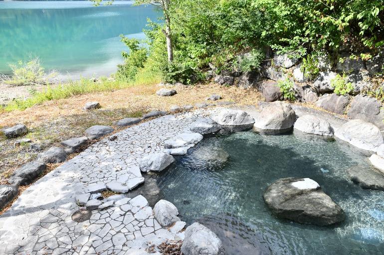 大白川露天風呂(画像提供:トヨタ白川郷自然學校)