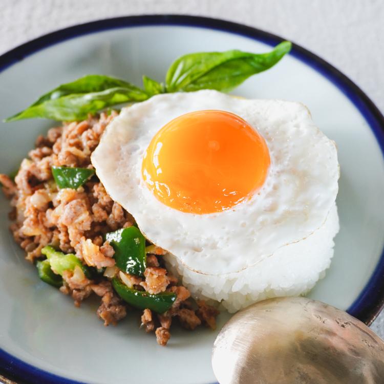 夏に食べたいアジアン料理/ピーマンのガパオライス