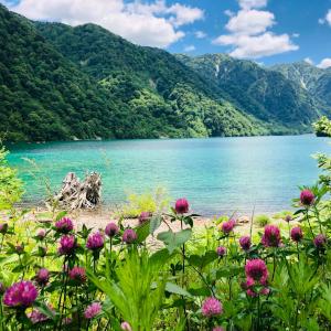 エメラルドグリーンに輝く秘境の湖「白水湖」