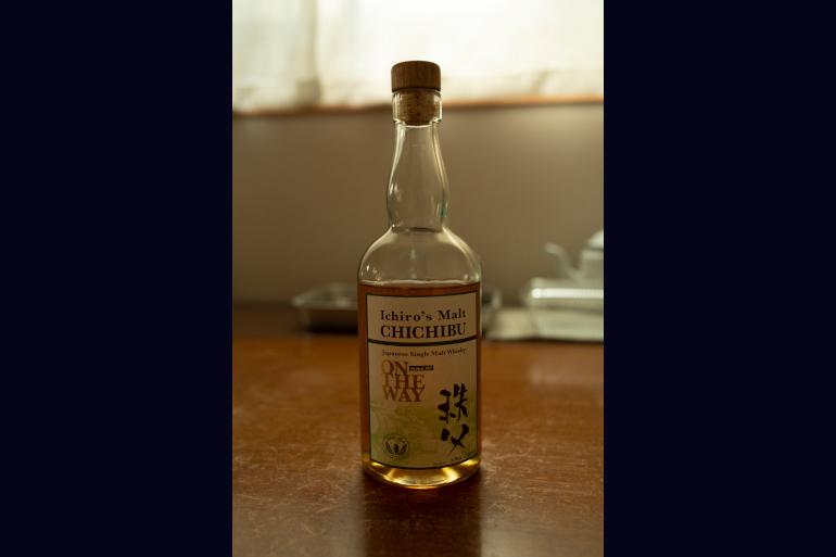 イチローズモルト秩父は、夫の上司からのいただきもの。希少品なので大事に飲んでいる