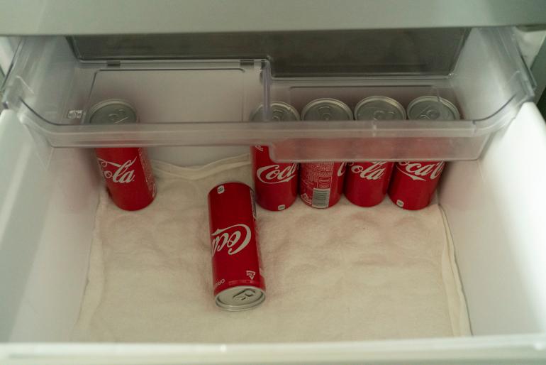<切らしたら困るもの>コカ・コーラ。長男の好物。毎月1本自販機でもらえるという月決めのサブスクに入っている