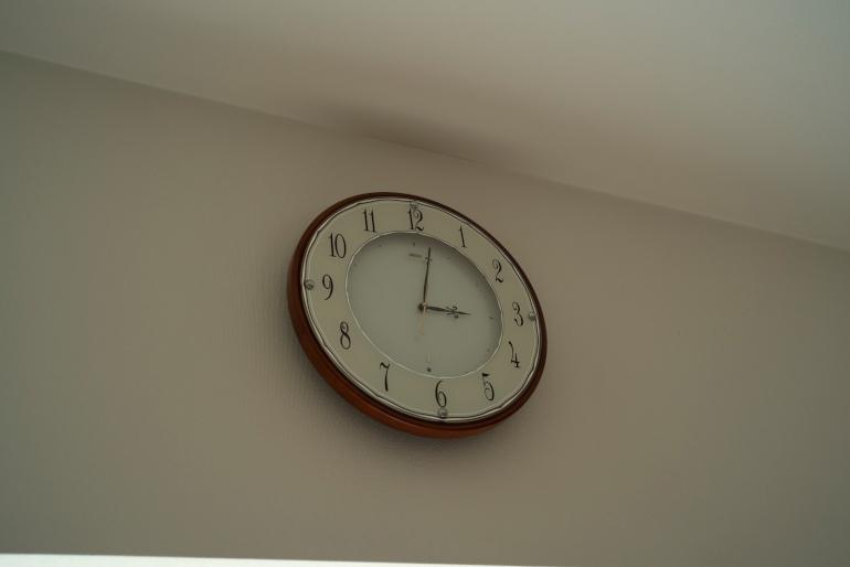 ユーコさんとともに時を刻んできた時計