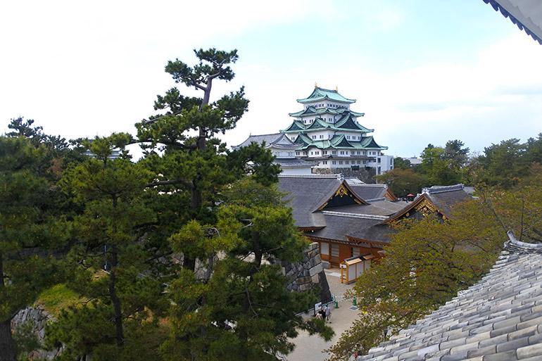 尾張徳川家の居城、名古屋城
