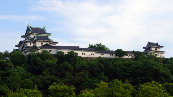 和歌山城と、江戸に残る御三家ゆかりの地名