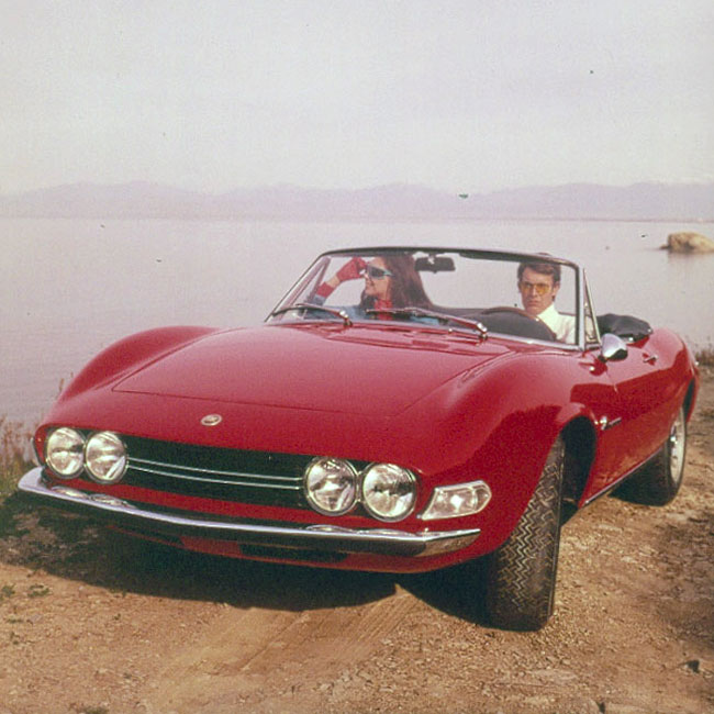 フィアットとフェラーリが作ったスポーツカー フィアット・ディーノ