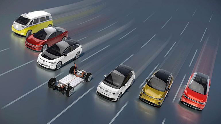 VWはひとつの「MEB」プラットフォームからさまざまな「ID.(アイディー)」シリーズを作る