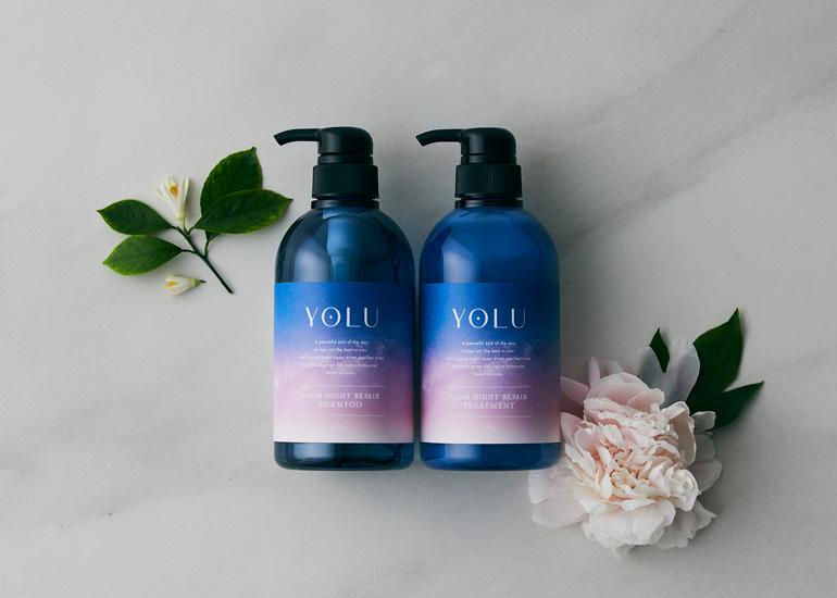 ナイトケアビューティーブランド「YOLU(ヨル)」シャンプー&トリートメントセットを3名様にプレゼント