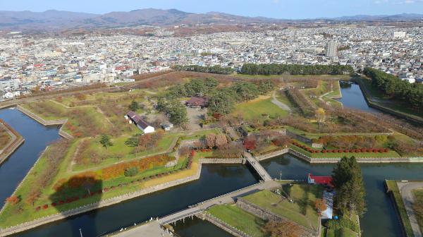 幕府の威信かけた西洋式要塞 函館の五稜郭