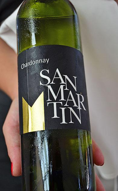 鹿肉に合わせるワインは「サン・マルタン」