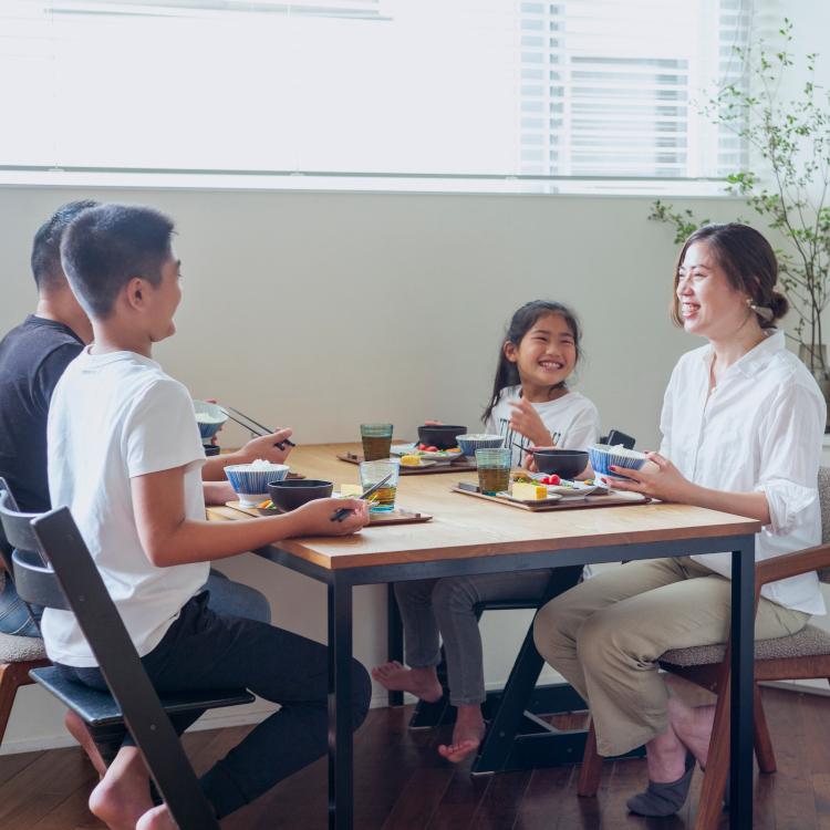 象印の炊飯ジャー「炎舞炊き」がつくる、家族みんなが心地よい暮らし