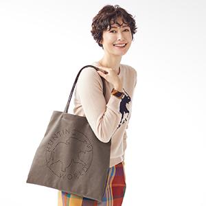 女優・田丸麻紀さん「サステイナブルな時代、欲しいのはエレガントなエコバッグ」