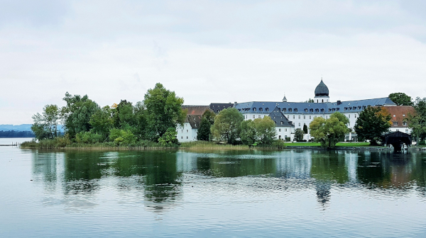 バラとビールと修道院 南ドイツの島めぐり後編