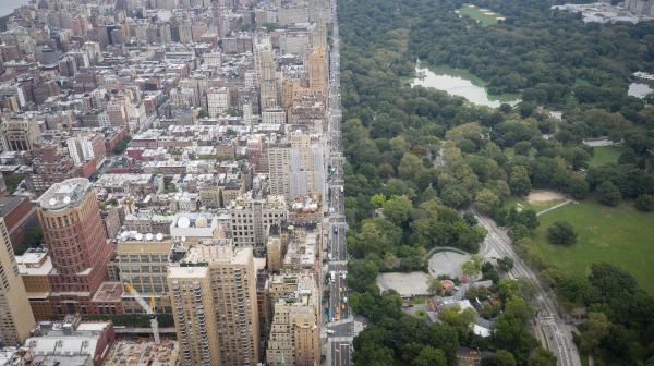 眠らぬ街に都会のオアシス ニューヨーク