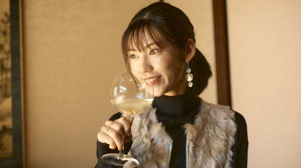 スパークリング日本酒×鯛の中華蒸し