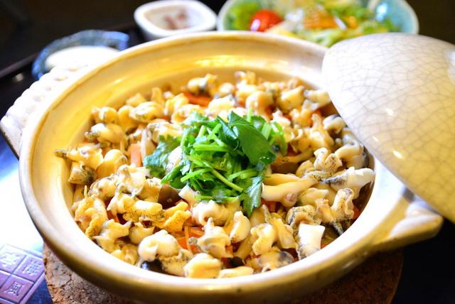 「ばい飯」は、魚津の名物料理の一つ