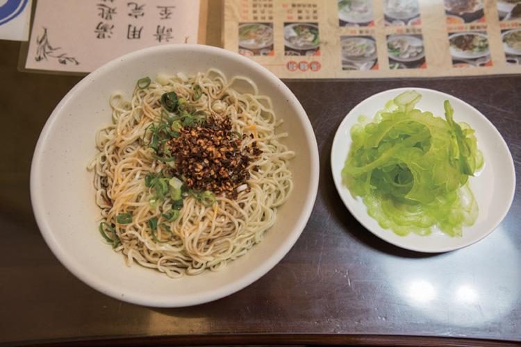 料理研究家による台北「食」ガイド、我流に味わう乾拌麺