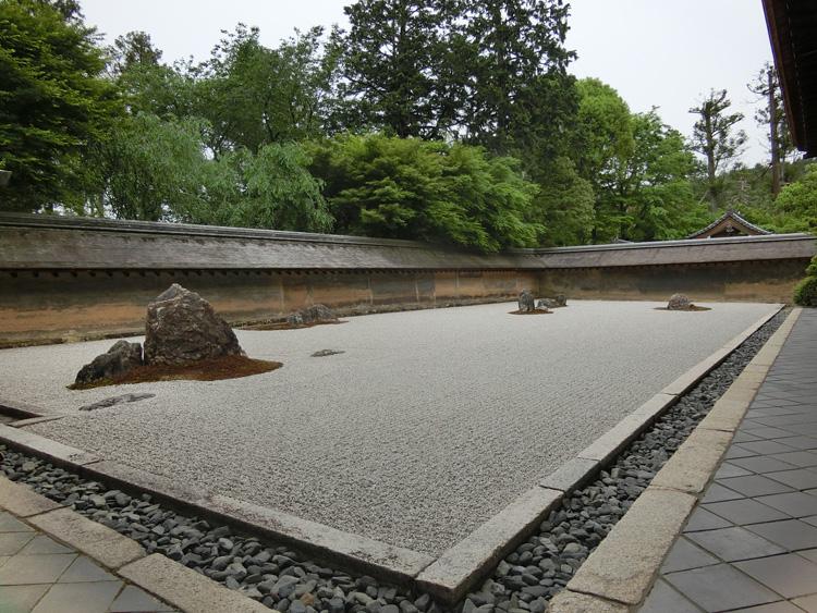 夏の京都・龍安寺 対照的な二つの美、見頃のスイレンと謎多き石庭