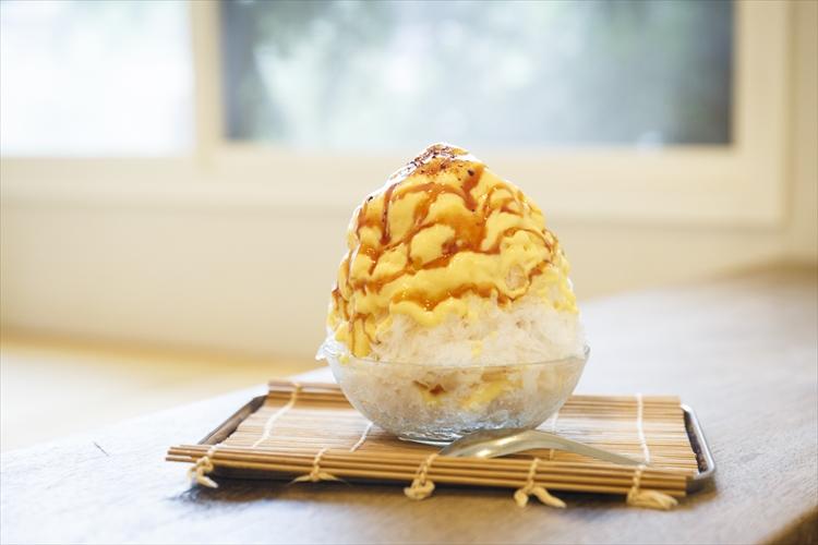 """京都の人気洋菓子店が作る、""""スイーツのような""""かき氷"""