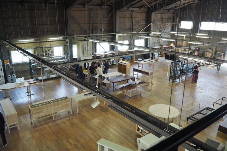 工場もぐるぐる見比べて 「旭川デザインウィーク」(後編)