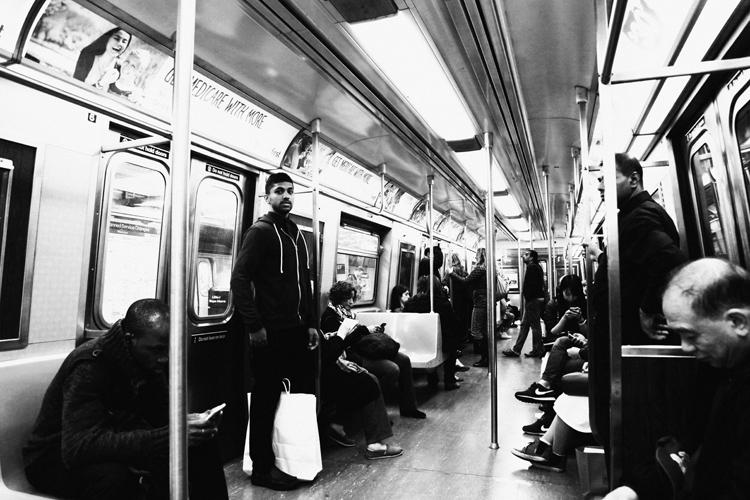 (22) ニューヨークの地下鉄は美しい! 永瀬正敏が写真に切り取った