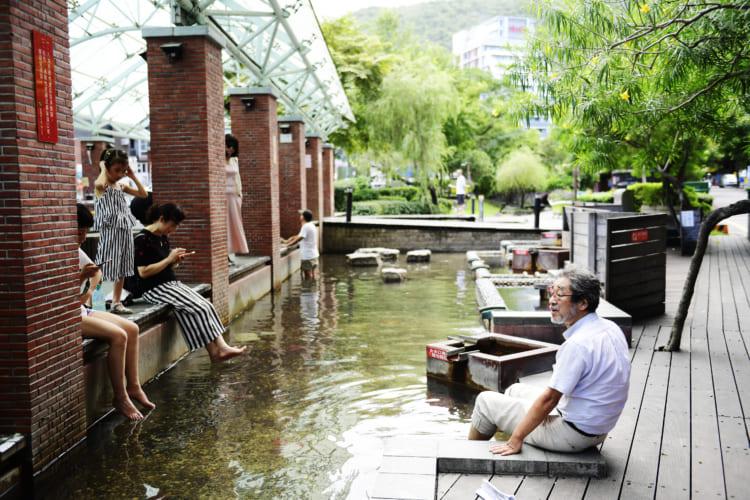清水断崖から台北へ、旅行作家・下川裕治が行く、台湾の超秘湯旅13