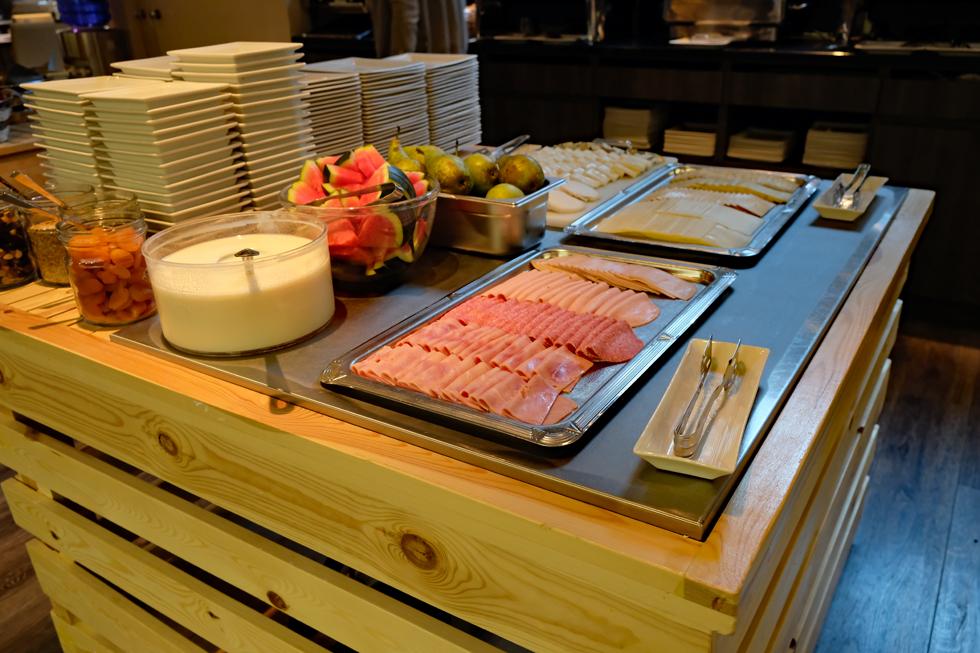 ホテル「Martin's Brugge」の朝食